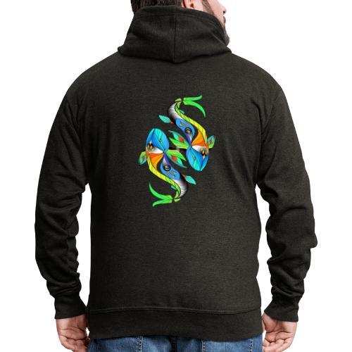 Regenbogenfische - Männer Premium Kapuzenjacke