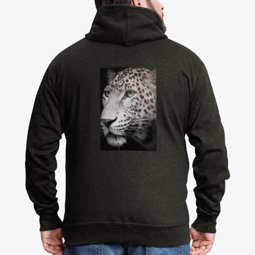 Schwarzer Tiger - Männer Premium Kapuzenjacke
