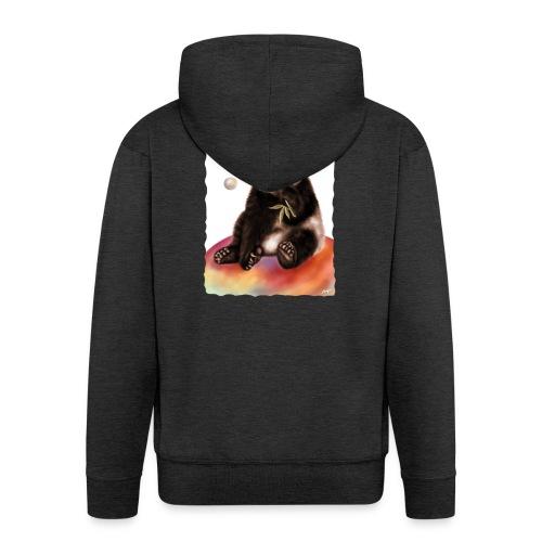 Panda World - Felpa con zip Premium da uomo