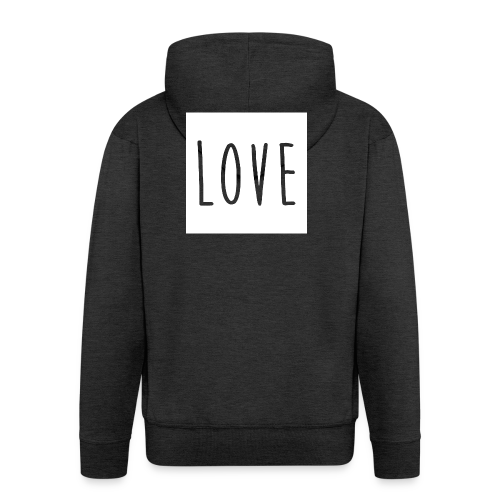 Love Women - Men's Premium Hooded Jacket
