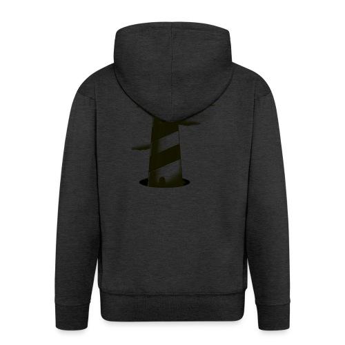 faro shirt - Felpa con zip Premium da uomo