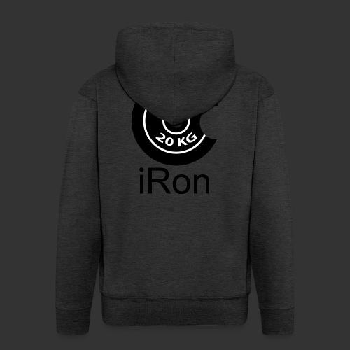 iRon - Hantel - Männer Premium Kapuzenjacke
