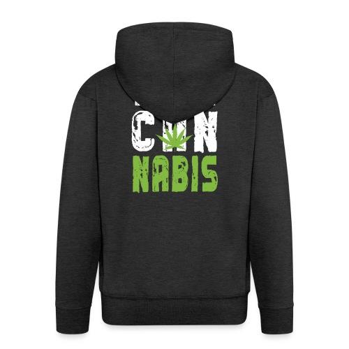 Weed T-shirt - Men's Premium Hooded Jacket