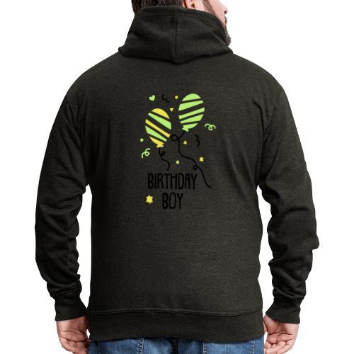 Geburtstagsshirt JUNGS - Männer Premium Kapuzenjacke