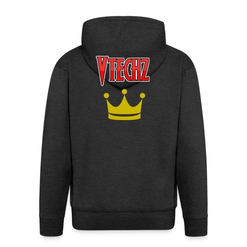 Vtechz King - Men's Premium Hooded Jacket