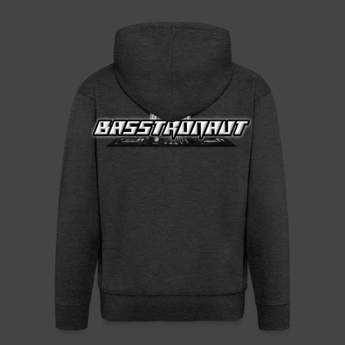 Bassphemie - Basstronaut Logo - Männer Premium Kapuzenjacke