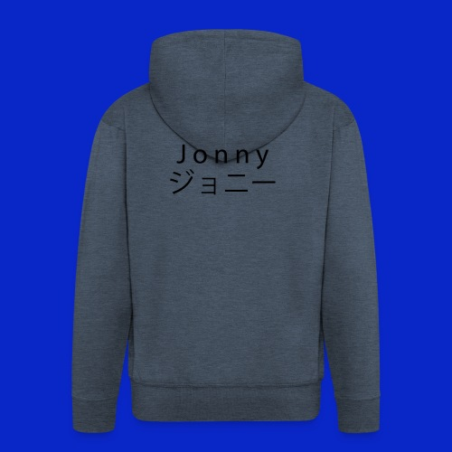 J o n n y (black) - Men's Premium Hooded Jacket