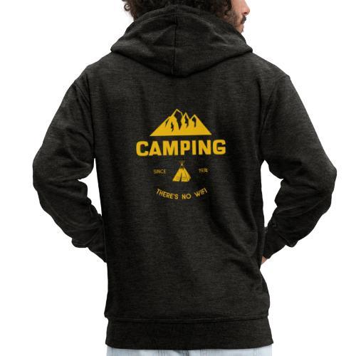 Camping - Männer Premium Kapuzenjacke