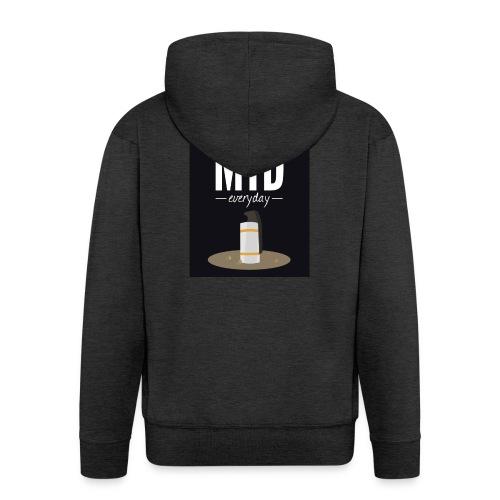 smoke mid - Mannenjack Premium met capuchon