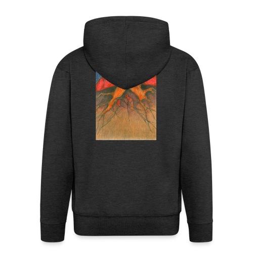 Roots - Rozpinana bluza męska z kapturem Premium