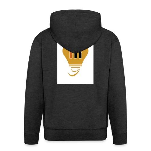Ideeinmovimento - Felpa con zip Premium da uomo