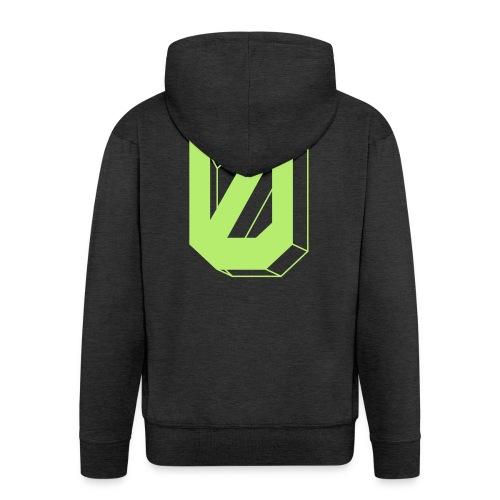 Die Grüne-Null - Men's Premium Hooded Jacket