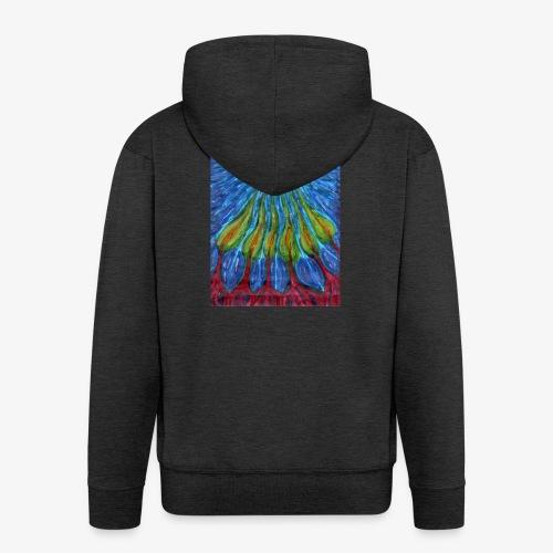 Hidden Desires - Rozpinana bluza męska z kapturem Premium