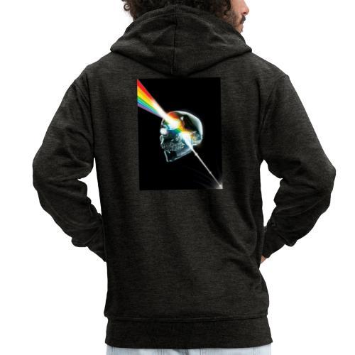 tete de mort gay - Veste à capuche Premium Homme