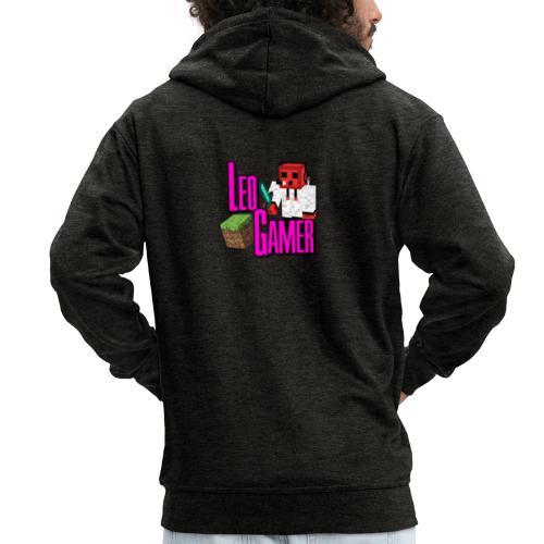 LeoGamer Minecraft - Men's Premium Hooded Jacket