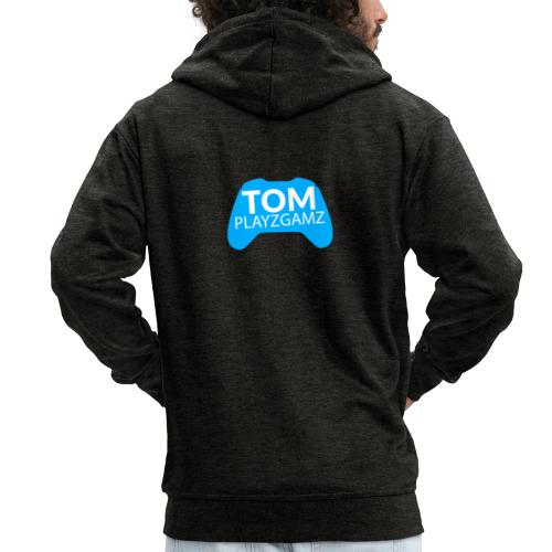 TomPlayzGamz Logo - Men's Premium Hooded Jacket
