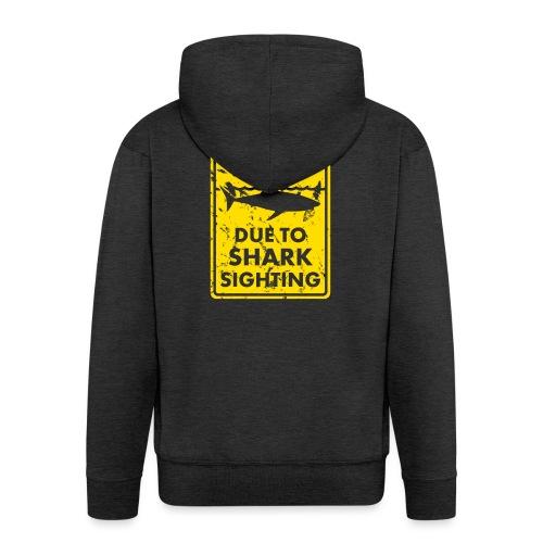 Surf T-Shirt Beach closed - Männer Premium Kapuzenjacke