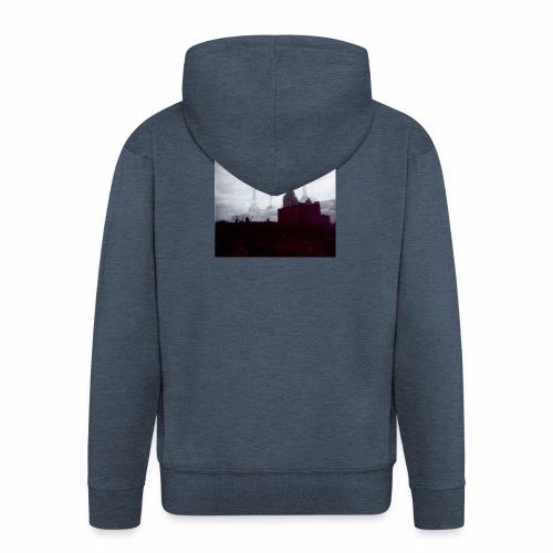 Original Artist design * Battersea - Men's Premium Hooded Jacket