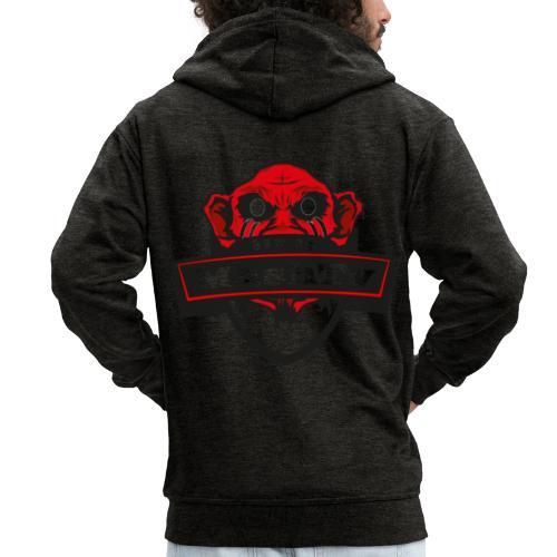 Transparentes Mash Merch Red/Black Logo - Männer Premium Kapuzenjacke