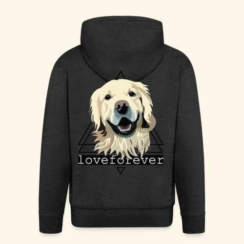 RETRIEVER LOVE FOREVER - Chaqueta con capucha premium hombre