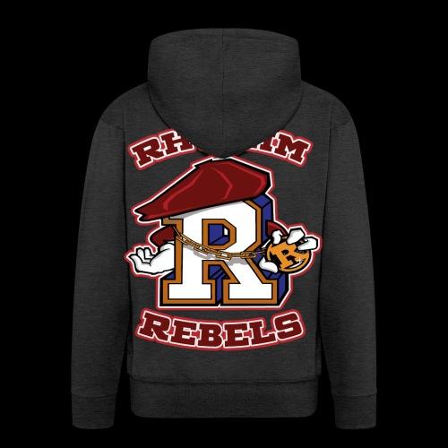 DOUBLE RR patch - Men's Premium Hooded Jacket