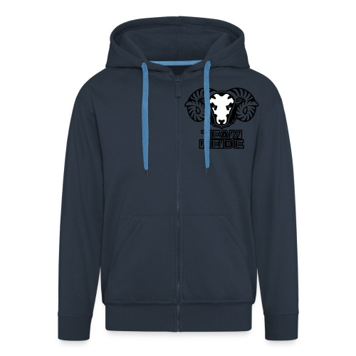 team heide logo 2c - Männer Premium Kapuzenjacke