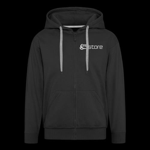 HifiStore - Miesten premium vetoketjullinen huppari