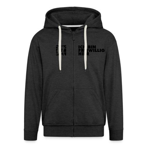 hoodie vereinfacht 01 - Männer Premium Kapuzenjacke