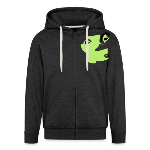 Gekko Lizard - Miesten premium vetoketjullinen huppari