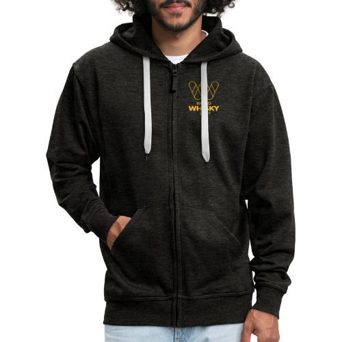 WWD logo - Men's Premium Hooded Jacket