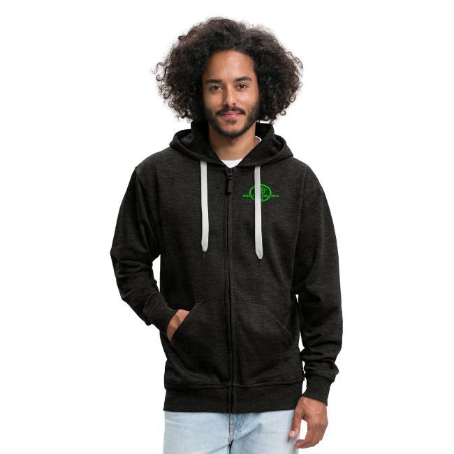 Parvati Records Matrix logo on zipped jackets