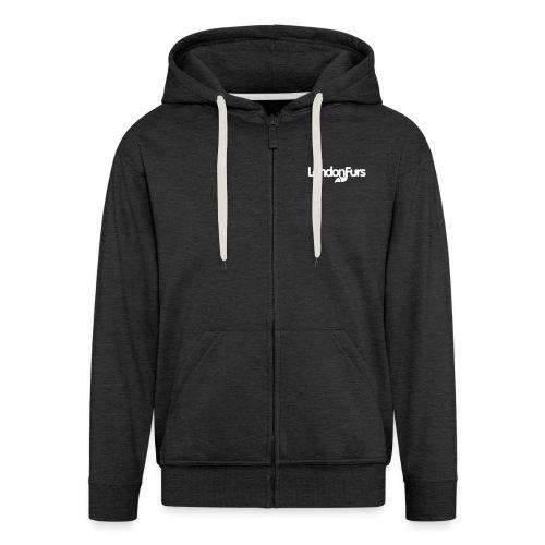 LondonFurs Logo - Men's Premium Hooded Jacket