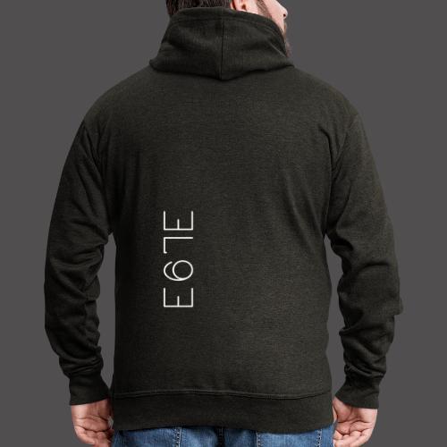 E67E Kollektion - Männer Premium Kapuzenjacke