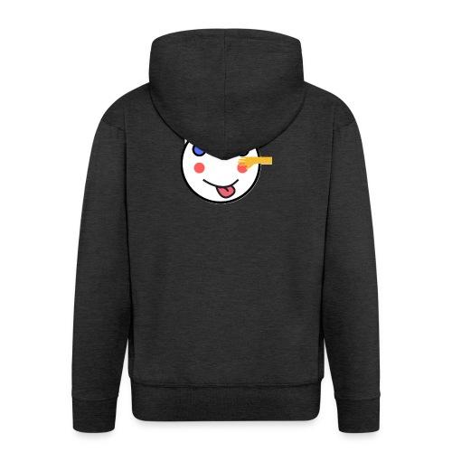 Alf Cat With Friend | Alf Da Cat - Men's Premium Hooded Jacket