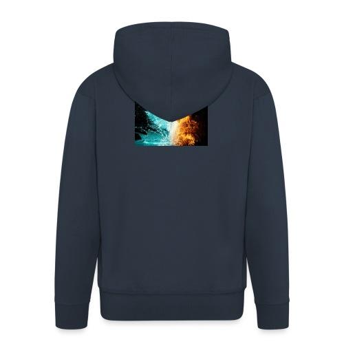 Elemental phoenix - Men's Premium Hooded Jacket