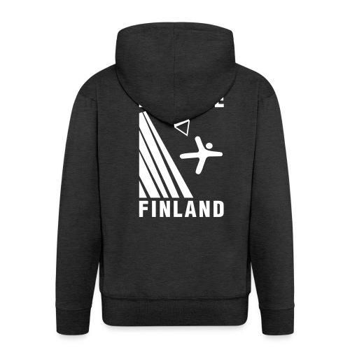 base logo - Men's Premium Hooded Jacket