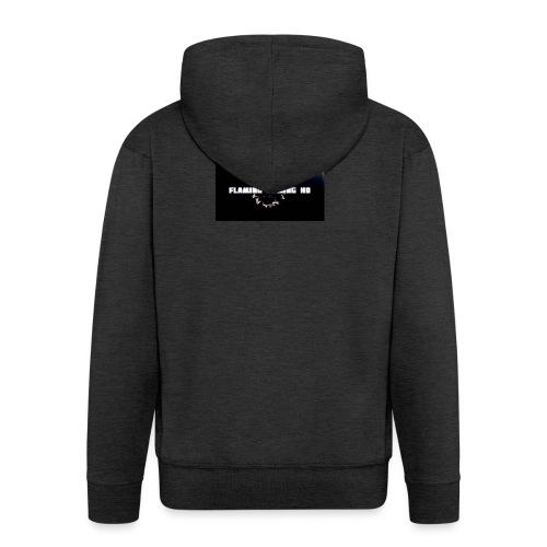 FLAMING GAMING, pre release merch - Men's Premium Hooded Jacket
