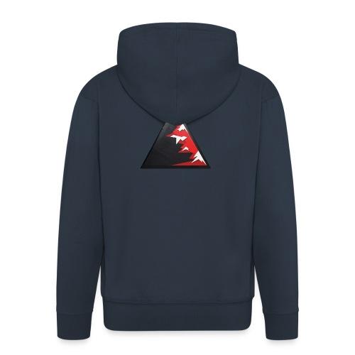 Climb high as a mountains to achieve high - Men's Premium Hooded Jacket