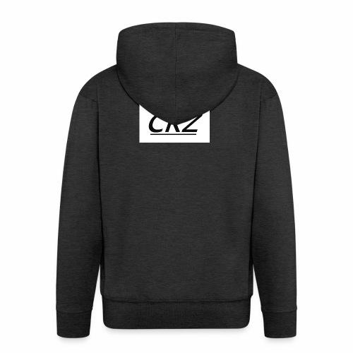 crzshirtlogo - Men's Premium Hooded Jacket