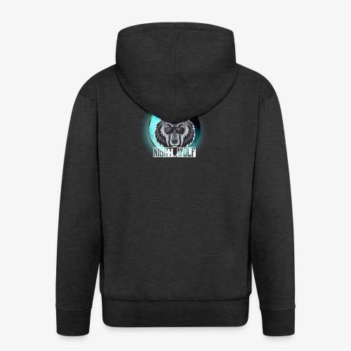 Wolf - Chaqueta con capucha premium hombre