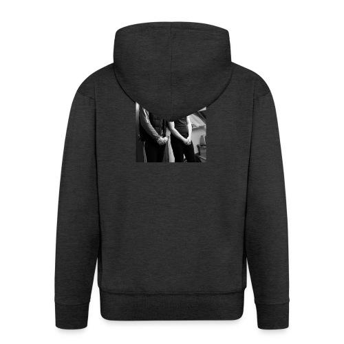 El Patron y Don Jay - Men's Premium Hooded Jacket
