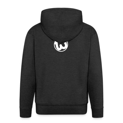 Wooshy Logo - Men's Premium Hooded Jacket
