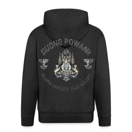 logotshirt png - Veste à capuche Premium Homme