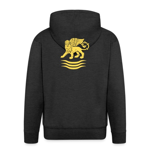 Trident Lion - Mannenjack Premium met capuchon
