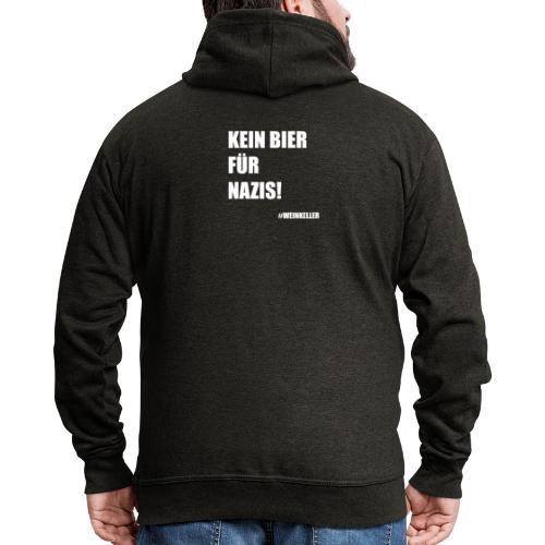 Kein Bier für Nazis! - Männer Premium Kapuzenjacke