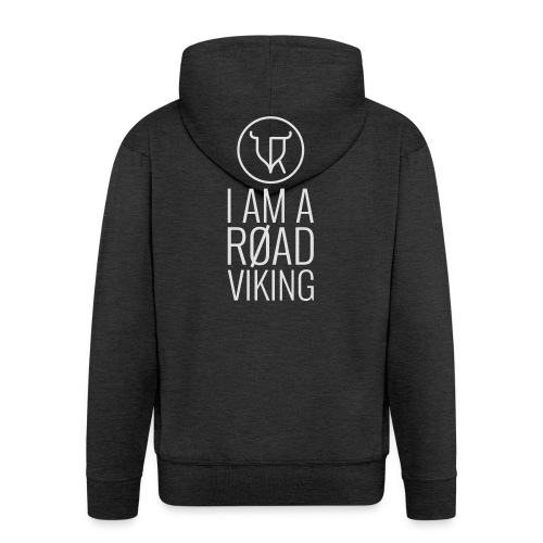 Road Vikings - security jacket - text - Men's Premium Hooded Jacket