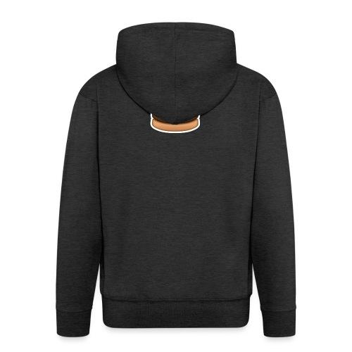 hamburger_emoji - Mannenjack Premium met capuchon