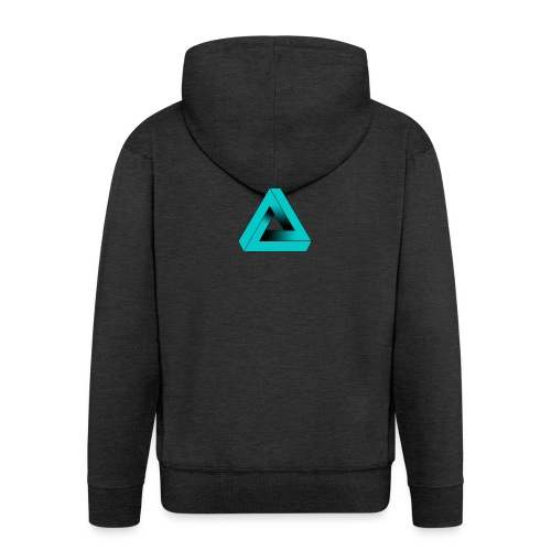 Impossible Triangle - Men's Premium Hooded Jacket