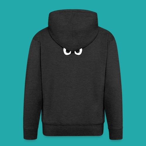Crowd Control Logo - Men's Premium Hooded Jacket