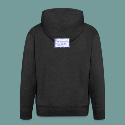 MY SUPERPOWER IS ANXIETY - Men's Premium Hooded Jacket